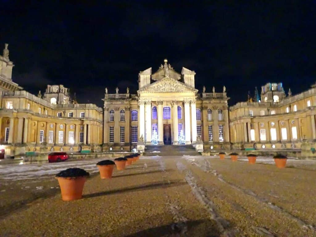 The Christmas at Blenheim Palace Lights Trail - Where Goes Rose?